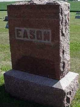 EASON, HEADSTONE - Sioux County, Iowa | HEADSTONE EASON