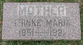 EILTS, TRINKE MARIE - Sioux County, Iowa | TRINKE MARIE EILTS