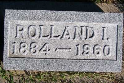 ELDREDGE, ROLLAND I. - Sioux County, Iowa | ROLLAND I. ELDREDGE
