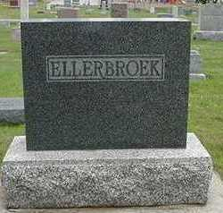 ELLERBROEK, HEADSTONE - Sioux County, Iowa | HEADSTONE ELLERBROEK