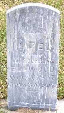 ELLWOOD, HAZEL (DAU OF W.H.& R.A.) - Sioux County, Iowa | HAZEL (DAU OF W.H.& R.A.) ELLWOOD