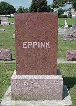 EPPINK, HEADSTONE - Sioux County, Iowa | HEADSTONE EPPINK