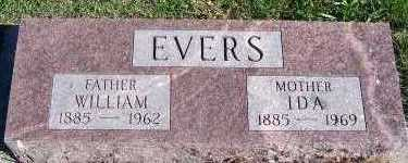 EVERS, WILLIAM - Sioux County, Iowa | WILLIAM EVERS
