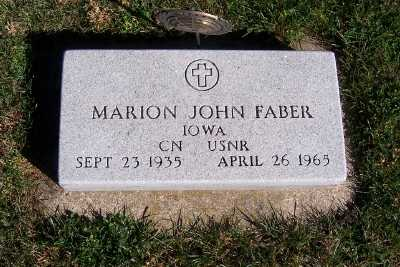 FABER, MARION JOHN - Sioux County, Iowa | MARION JOHN FABER