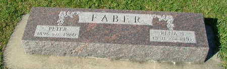 FABER, PETER - Sioux County, Iowa | PETER FABER