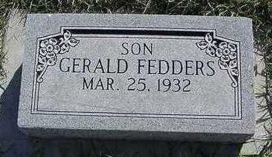 FEDDERS, GERALD - Sioux County, Iowa | GERALD FEDDERS
