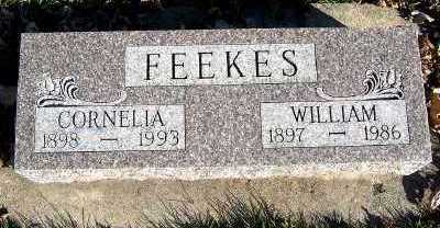 FEEKES, WILLIAM - Sioux County, Iowa | WILLIAM FEEKES