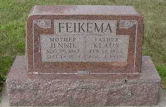 FEIKEMA, JENNIE - Sioux County, Iowa | JENNIE FEIKEMA