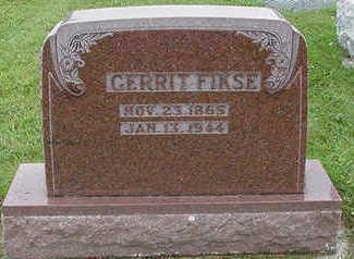 FIKSE, GERRIT - Sioux County, Iowa | GERRIT FIKSE