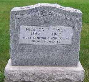 FINCH, NEWTON L. - Sioux County, Iowa | NEWTON L. FINCH