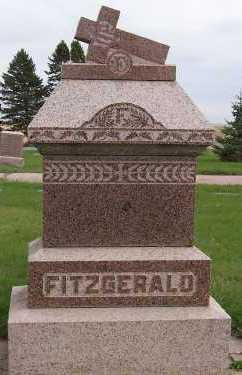 FITZGERALD, HEADSTONE - Sioux County, Iowa | HEADSTONE FITZGERALD