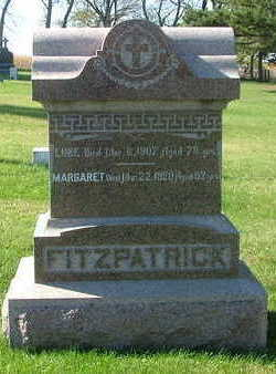 FITZPATRICK, MARGARET  (MRS. LUKE) - Sioux County, Iowa | MARGARET  (MRS. LUKE) FITZPATRICK