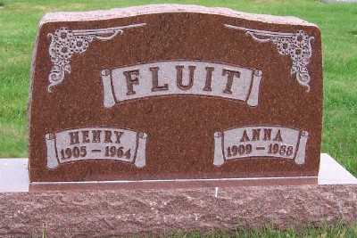 FLUIT, ANNA - Sioux County, Iowa | ANNA FLUIT