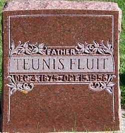 FLUIT, TEUNIS - Sioux County, Iowa | TEUNIS FLUIT