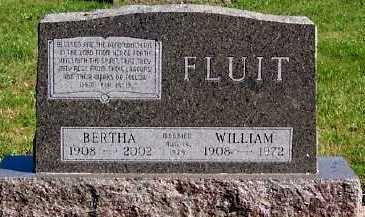 FLUIT, BERTHA - Sioux County, Iowa | BERTHA FLUIT