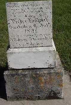 FONKERT, PIETER  D.1891 - Sioux County, Iowa | PIETER  D.1891 FONKERT