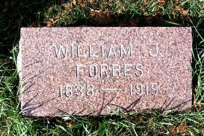FORBES, WILLIAM J. - Sioux County, Iowa | WILLIAM J. FORBES