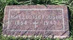 FOUSHE, MRS. LOUISE - Sioux County, Iowa | MRS. LOUISE FOUSHE