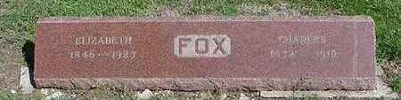 FOX, ELIZABETH  (MRS. CHARLES) - Sioux County, Iowa | ELIZABETH  (MRS. CHARLES) FOX