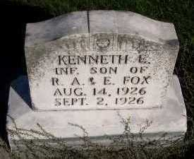 FOX, KENNETH - Sioux County, Iowa | KENNETH FOX