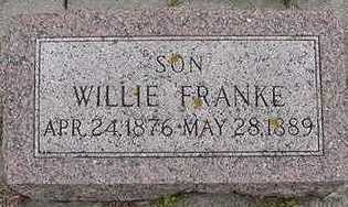 FRANKE, WILLIE - Sioux County, Iowa | WILLIE FRANKE