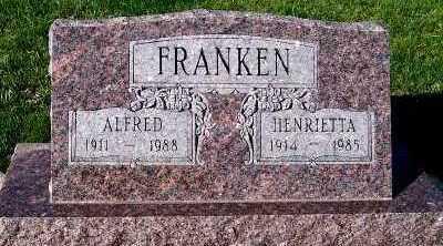 FRANKEN, ALFRED - Sioux County, Iowa | ALFRED FRANKEN
