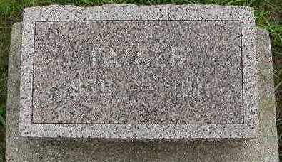 FRANKEN, FATHER D.1911 - Sioux County, Iowa | FATHER D.1911 FRANKEN