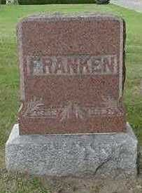 FRANKEN, HEADSTONE - Sioux County, Iowa | HEADSTONE FRANKEN