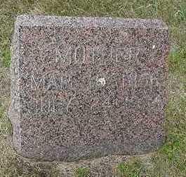 FRANKEN, MOTHER  D. 1934 - Sioux County, Iowa | MOTHER  D. 1934 FRANKEN