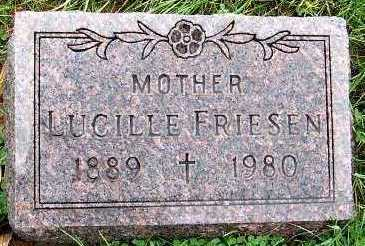 FRIESEN, LUCILLE - Sioux County, Iowa | LUCILLE FRIESEN
