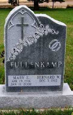 FULLENKAMP, MARY E. - Sioux County, Iowa | MARY E. FULLENKAMP