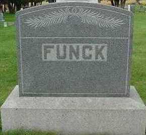 FUNCK, HEADSTONE - Sioux County, Iowa | HEADSTONE FUNCK