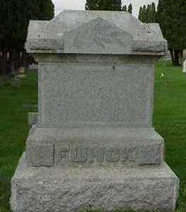 FUNCK, HEADSTONE - 2 - Sioux County, Iowa | HEADSTONE - 2 FUNCK