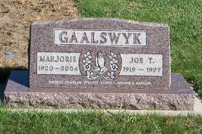 GAALSWYK, JOE T. - Sioux County, Iowa | JOE T. GAALSWYK