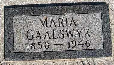GAALSWYK, MARIA - Sioux County, Iowa | MARIA GAALSWYK