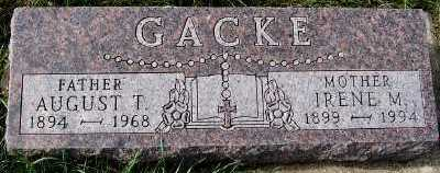 GACKE, AUGUST T. - Sioux County, Iowa | AUGUST T. GACKE