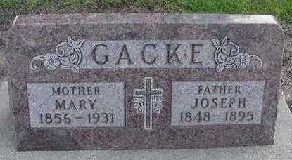 GACKE, MARY (MRS. JOSEPH) - Sioux County, Iowa | MARY (MRS. JOSEPH) GACKE