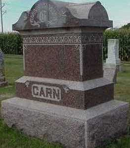 GARN, HEADSTONE - Sioux County, Iowa | HEADSTONE GARN