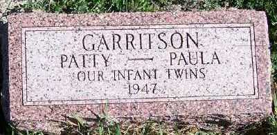 GARRITSON, PATTY - Sioux County, Iowa | PATTY GARRITSON
