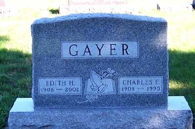 GAYER, CHARLES F. - Sioux County, Iowa | CHARLES F. GAYER