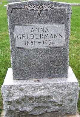 GELDERMAN, ANNA - Sioux County, Iowa | ANNA GELDERMAN