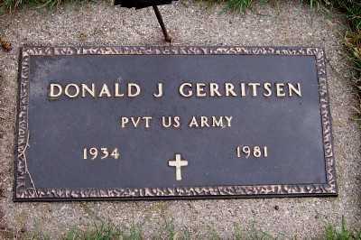 GERRITSEN, DONALD J. - Sioux County, Iowa | DONALD J. GERRITSEN
