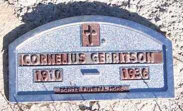 GERRITSON, CORNELIUS - Sioux County, Iowa | CORNELIUS GERRITSON