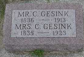 GESINK, C. MRS. - Sioux County, Iowa | C. MRS. GESINK