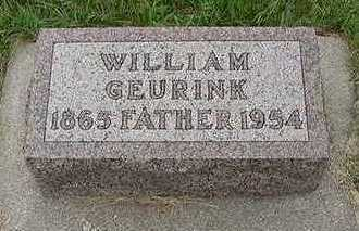 GEURINK, WILLIAM - Sioux County, Iowa | WILLIAM GEURINK