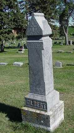 GILBERT, HEADSTONE - Sioux County, Iowa | HEADSTONE GILBERT