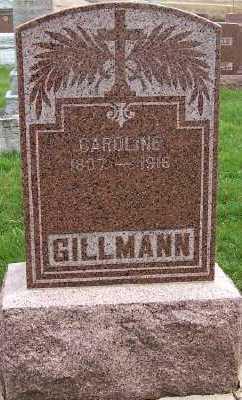 GILLMANN, CAROLINE (1837-1916) - Sioux County, Iowa | CAROLINE (1837-1916) GILLMANN