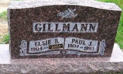 GILLMANN, PAUL J. - Sioux County, Iowa | PAUL J. GILLMANN