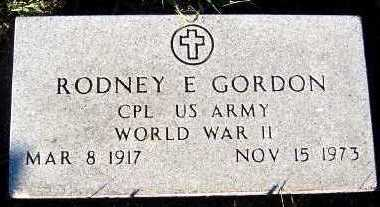 GORDON, RODNEY E. - Sioux County, Iowa | RODNEY E. GORDON