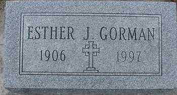 GORMAN, ESTHER - Sioux County, Iowa | ESTHER GORMAN